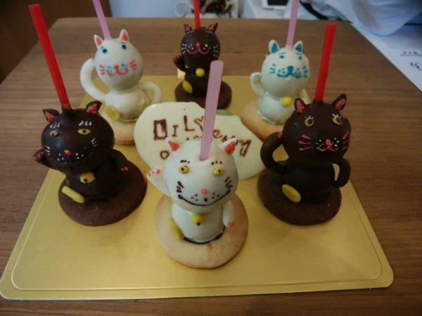 A la maisonのLIly特製ケーキ