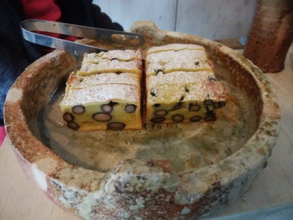 黒豆きんとんケーキ