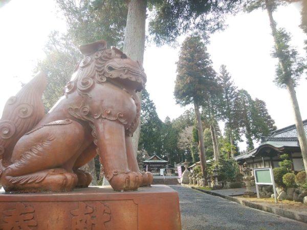 新宮神社狛犬