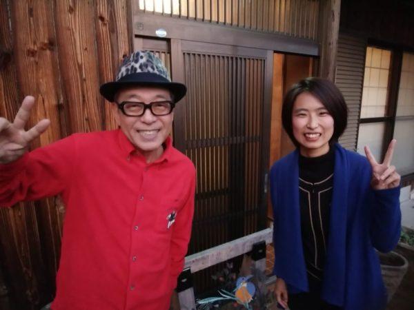 円広志さんとhioli